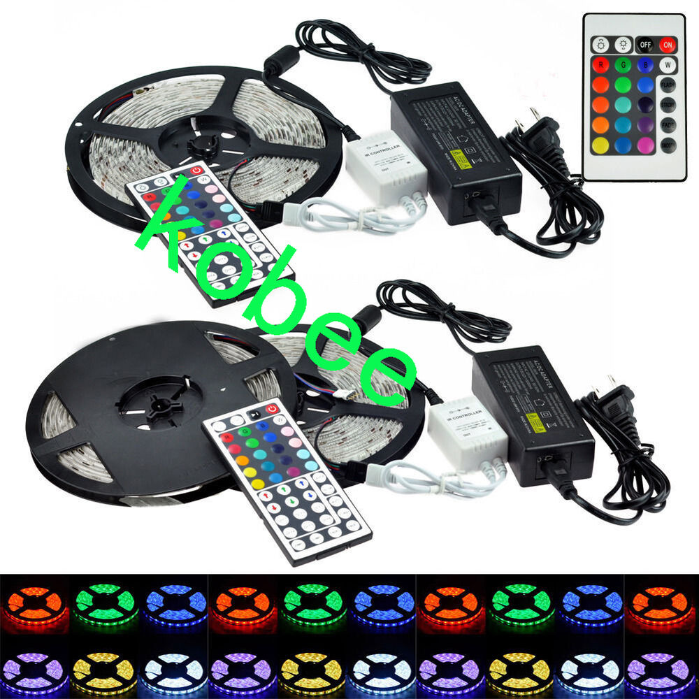 5m 10m 3528 5050 rgb smd flexible 300 600 led strip light. Black Bedroom Furniture Sets. Home Design Ideas