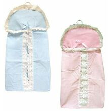 Diaper Stacker w/Hanger Laced Pink Blue Boy Girl New