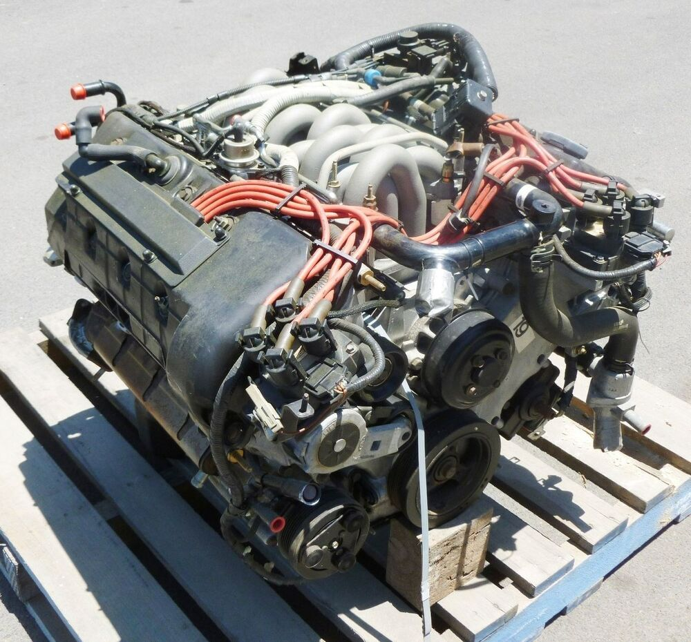 ford lincoln - new 4 6l v8 quad cam engine - 1996