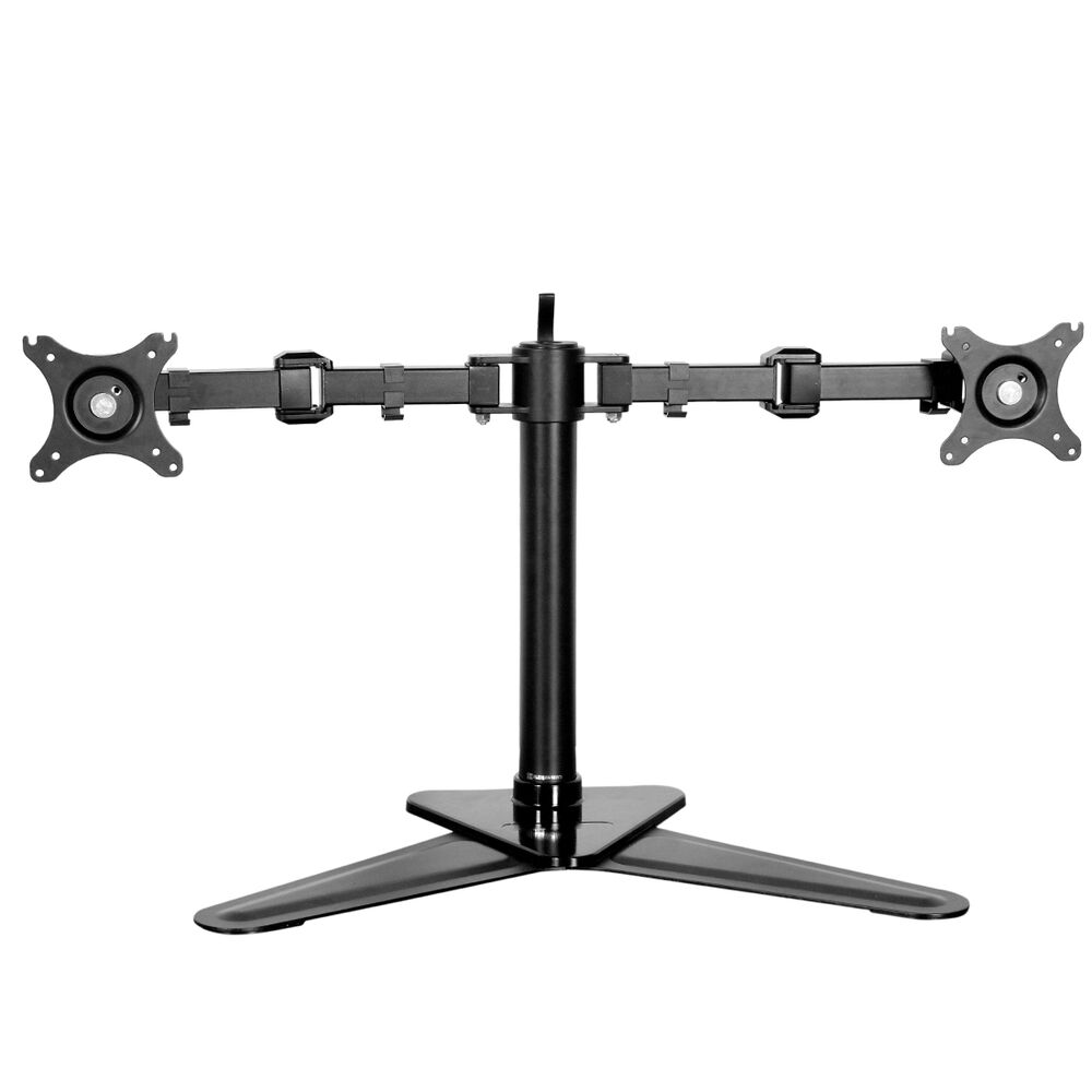 evaluation vivo dual lcd monitor desk mount educational