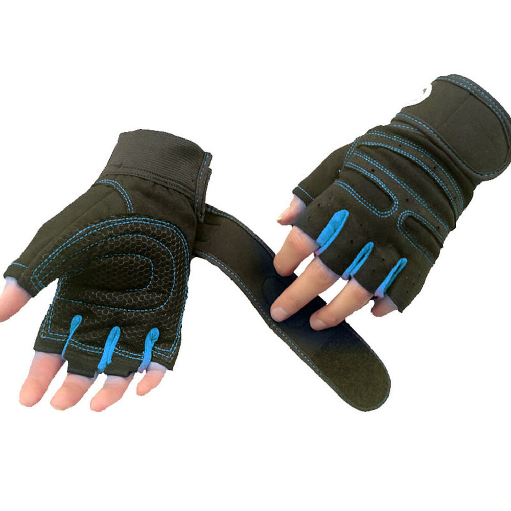 Xcrossfit Weight Lifting Gloves: New Gym Fitness Gloves Half Finger Anti-Skid Crossfit
