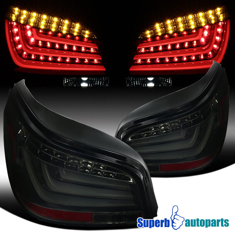2004 2007 bmw e60 5 series led bar glossy black housing. Black Bedroom Furniture Sets. Home Design Ideas