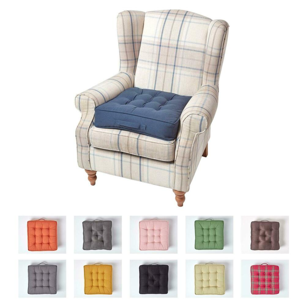 Armchair Booster Cushion Seat Pad Floor Chair Riser