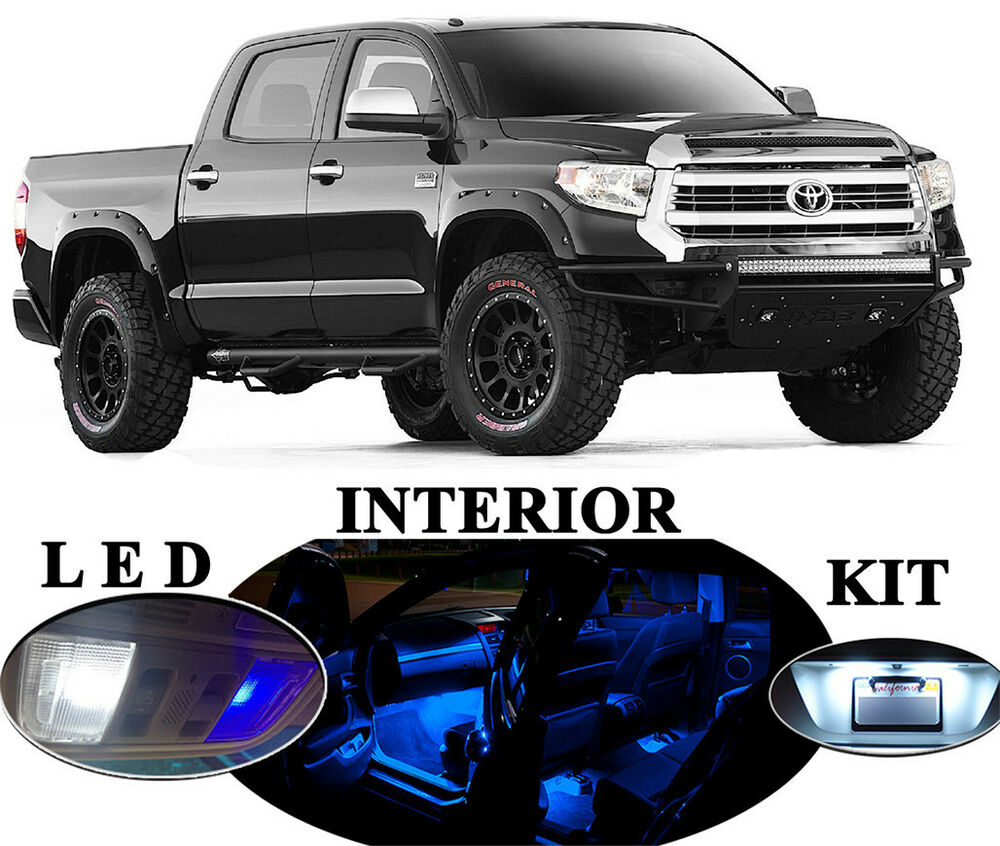 Led For Toyota Tundra Blue Led Interior Package Upgrade 10 Pieces Ebay