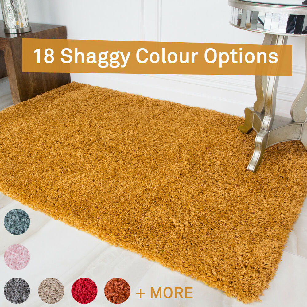 NEW Fluffy Furry Deep Thick Soft Shaggy Area Rug for