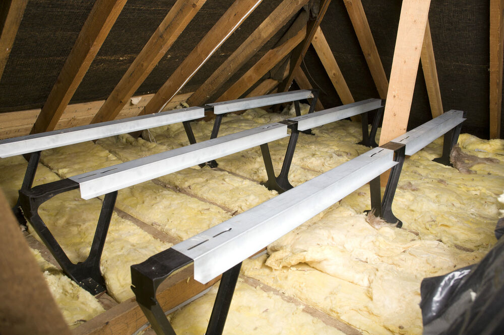 loft over garage ideas - Loft insulation spacers and beams alternative to loft