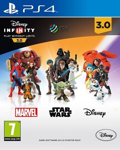 Disney Infinity 3.0 Standalone Software PS4 * NEW SEALED PAL * 7EU ...