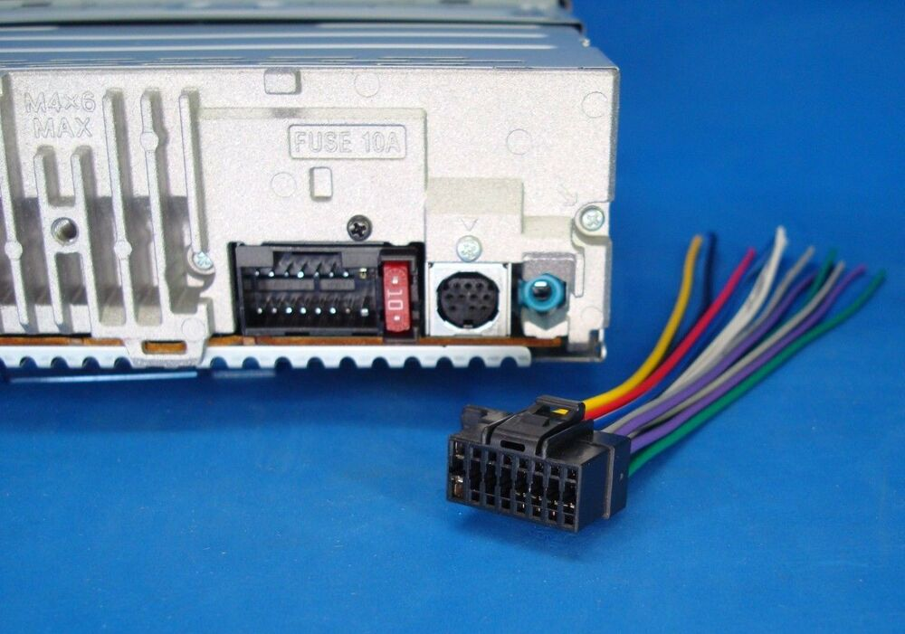 Sony Cdx Wiring Diagram For Radio Together With Sony Car Stereo Wiring