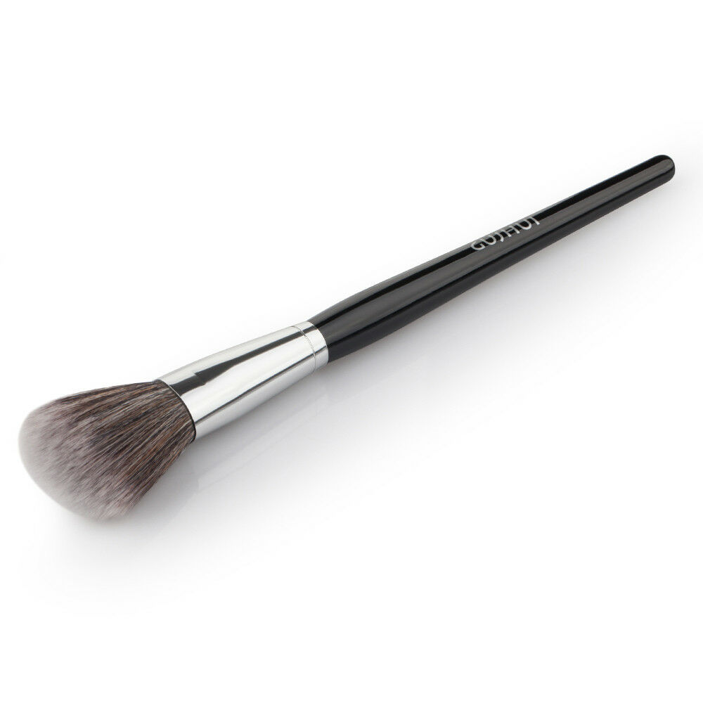 The brush shape is odd & makes blending the make up all over the face difficult. It's good around the nose area but that's about it, not good at blending foundation .