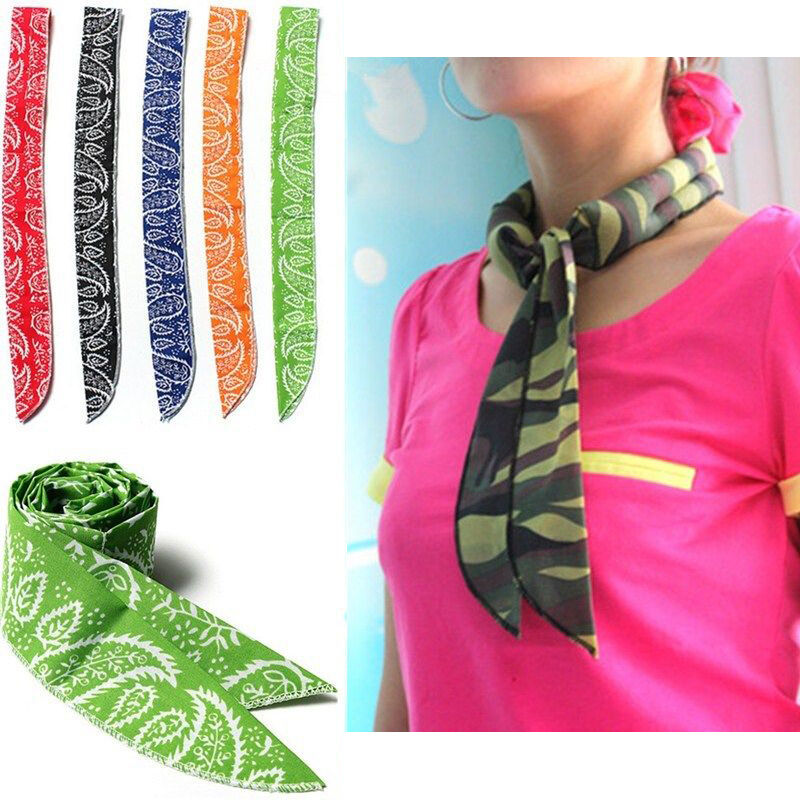 Cooling Neck Scarf : New refreshing neck cooler scarf towel body ice cool