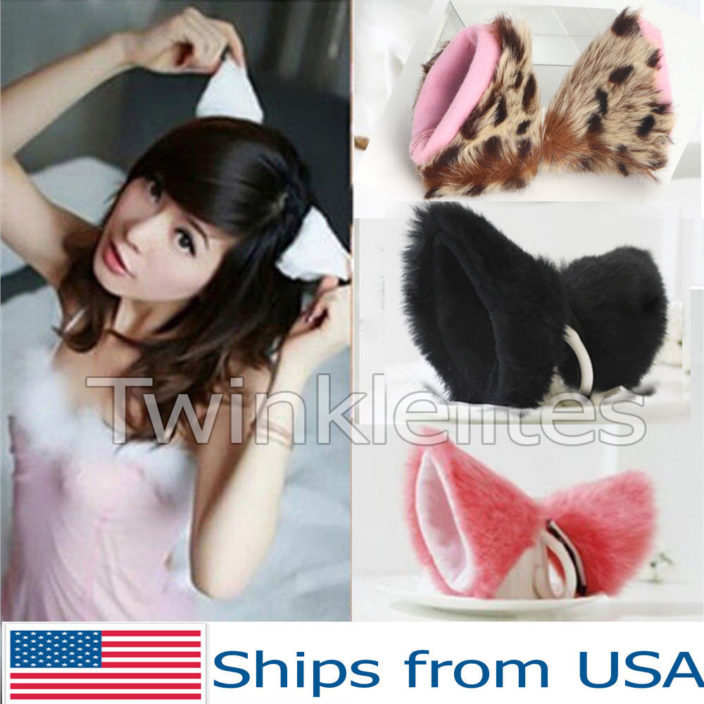 Cat Ear Clips Cosplay