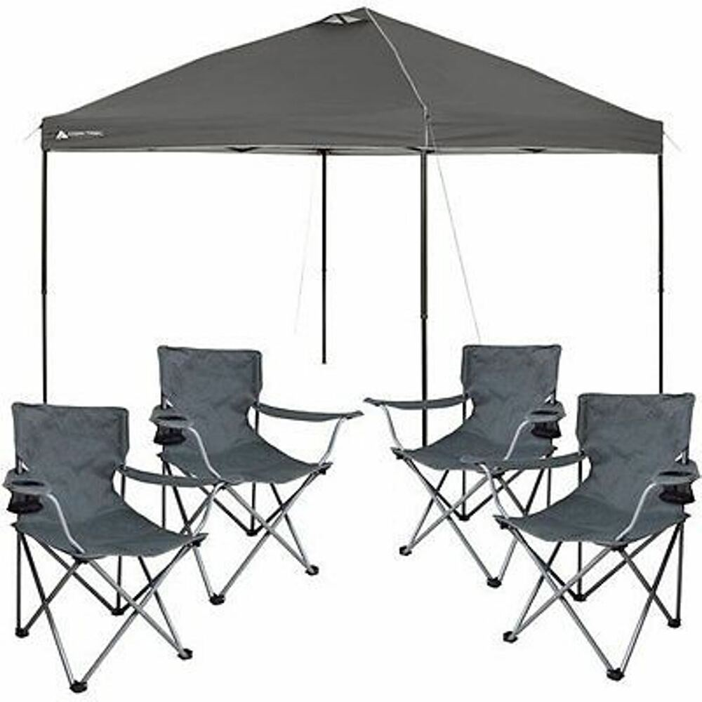 Canopies And Chairs : Popup tent outdoor portable shade canopy tailgate