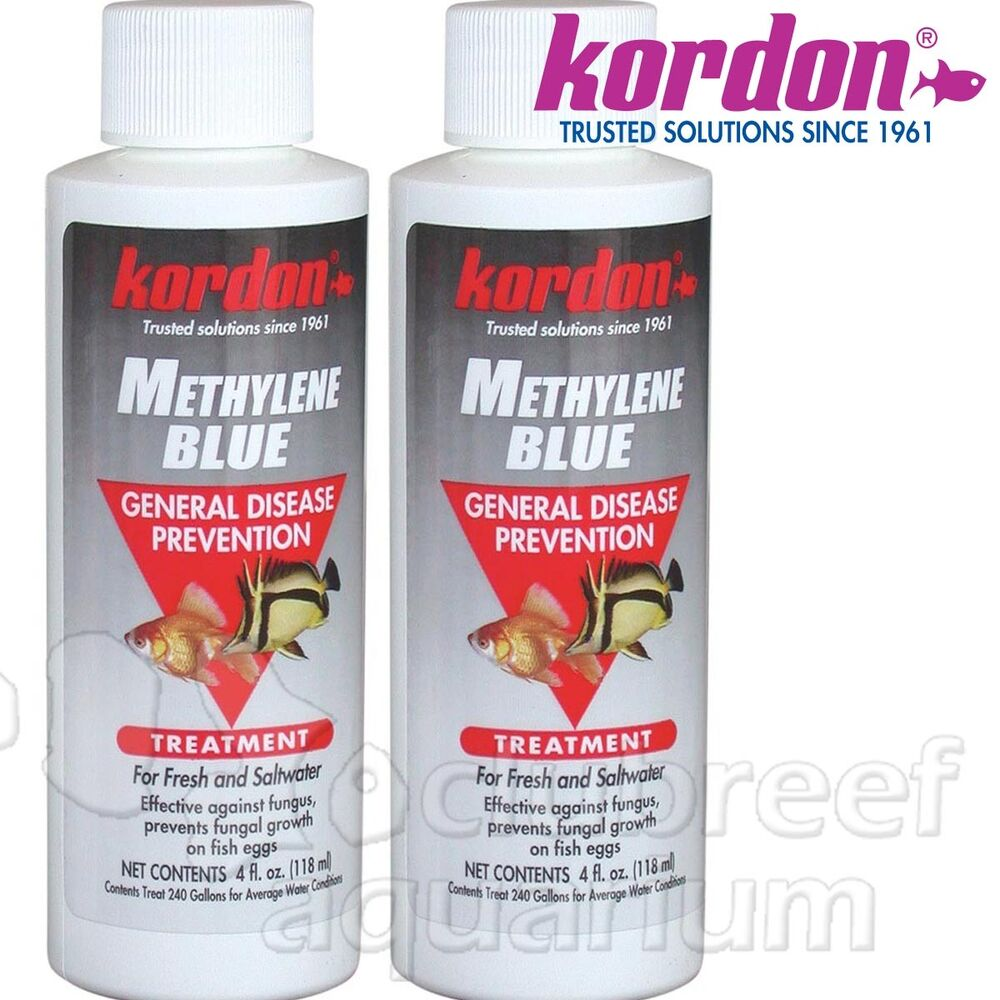 Kordon methylene blue fresh salt fish egg fungus general for Methylene blue for fish