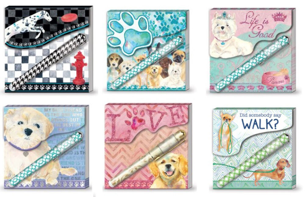 Punch Studio Lady Jayne Lily McGee Pet Matchbook Note Pad