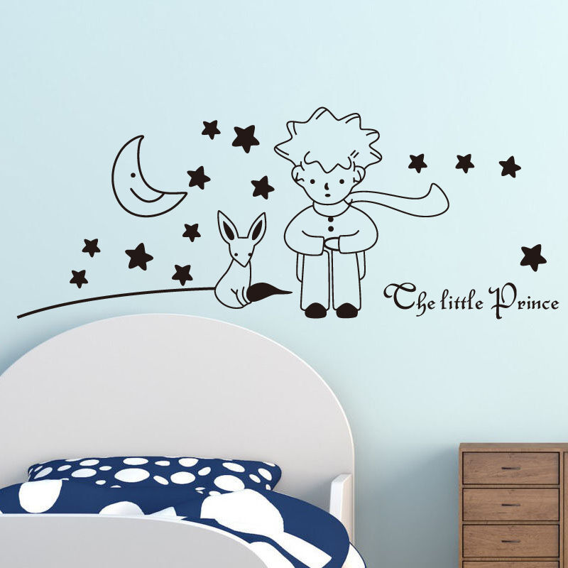 The Little Prince Wall Stickers Removable Vinyl Art Kids