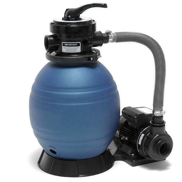 Above Ground Swimming Pool Sand Filter And Pump System Intex Pools 10k Gallons Ebay
