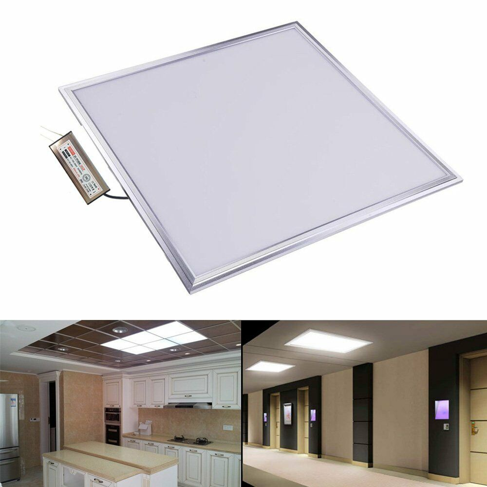 48W Square LED Recessed Ceiling Panel Down Lights Home