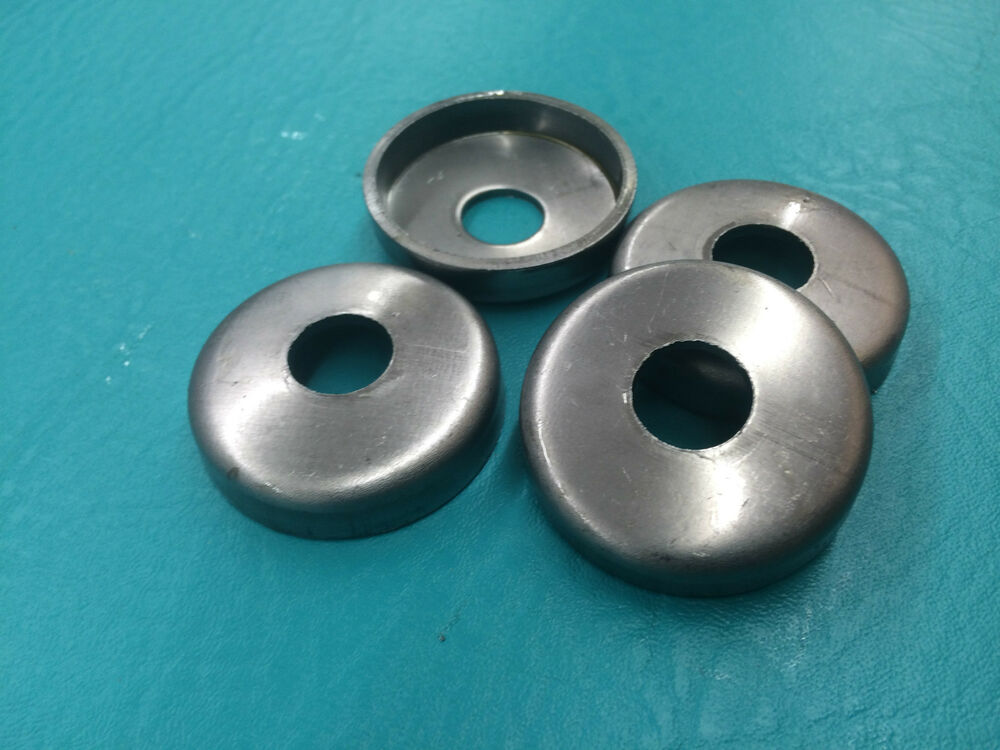 4 New 1 1 2 Quot Steel Weld On Cups Feet Metal Wrought Iron