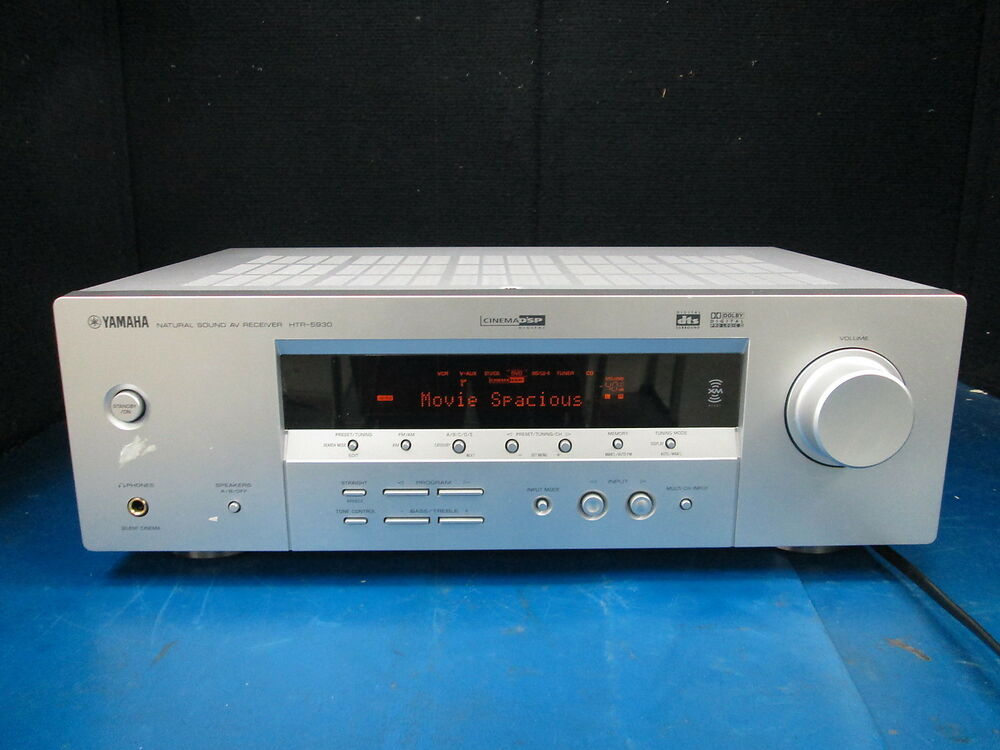Yamaha Natural Sound Av Receiver Htr