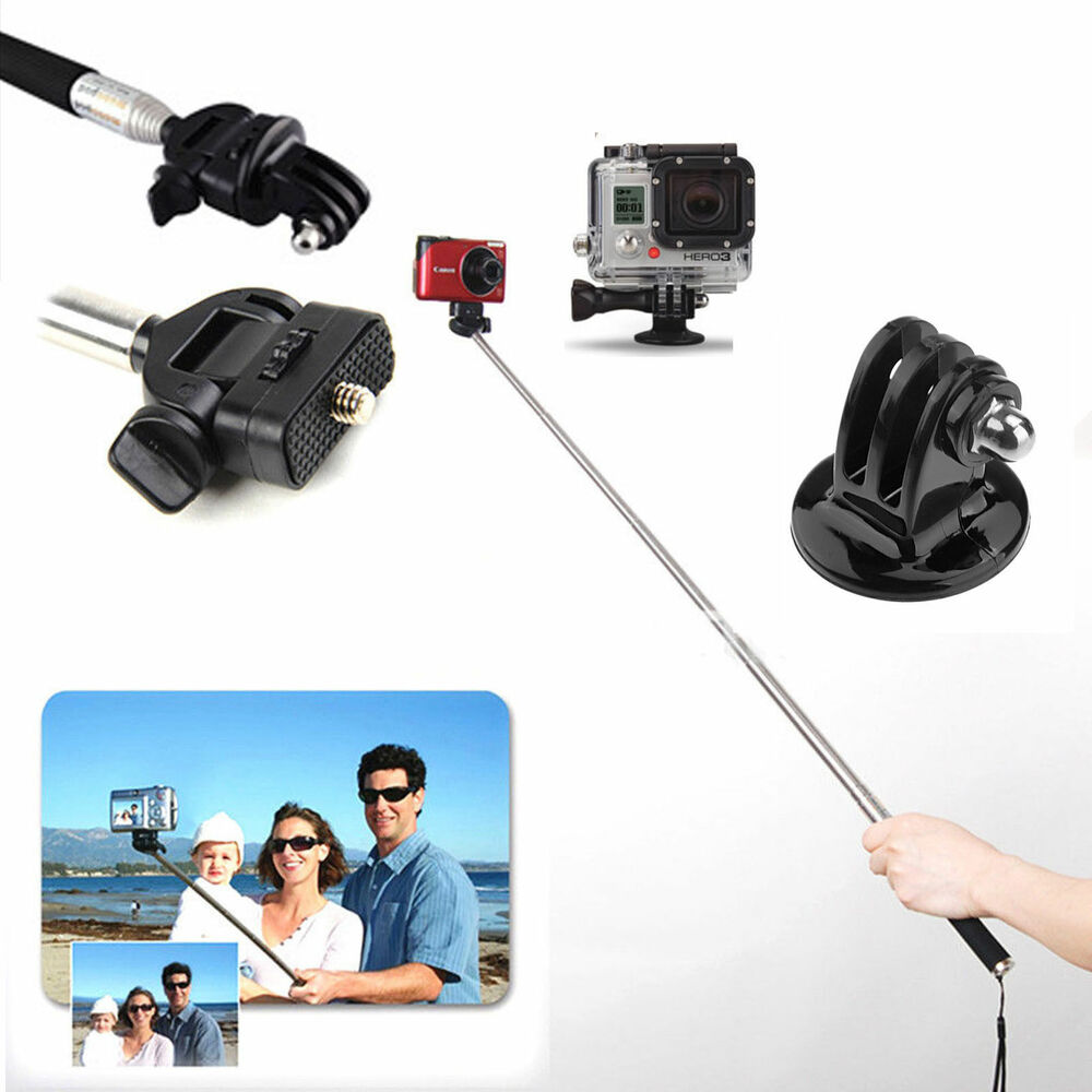 for xiaomi xiaoyi yi action cam sports camera selfie stick monopod travel ebay. Black Bedroom Furniture Sets. Home Design Ideas
