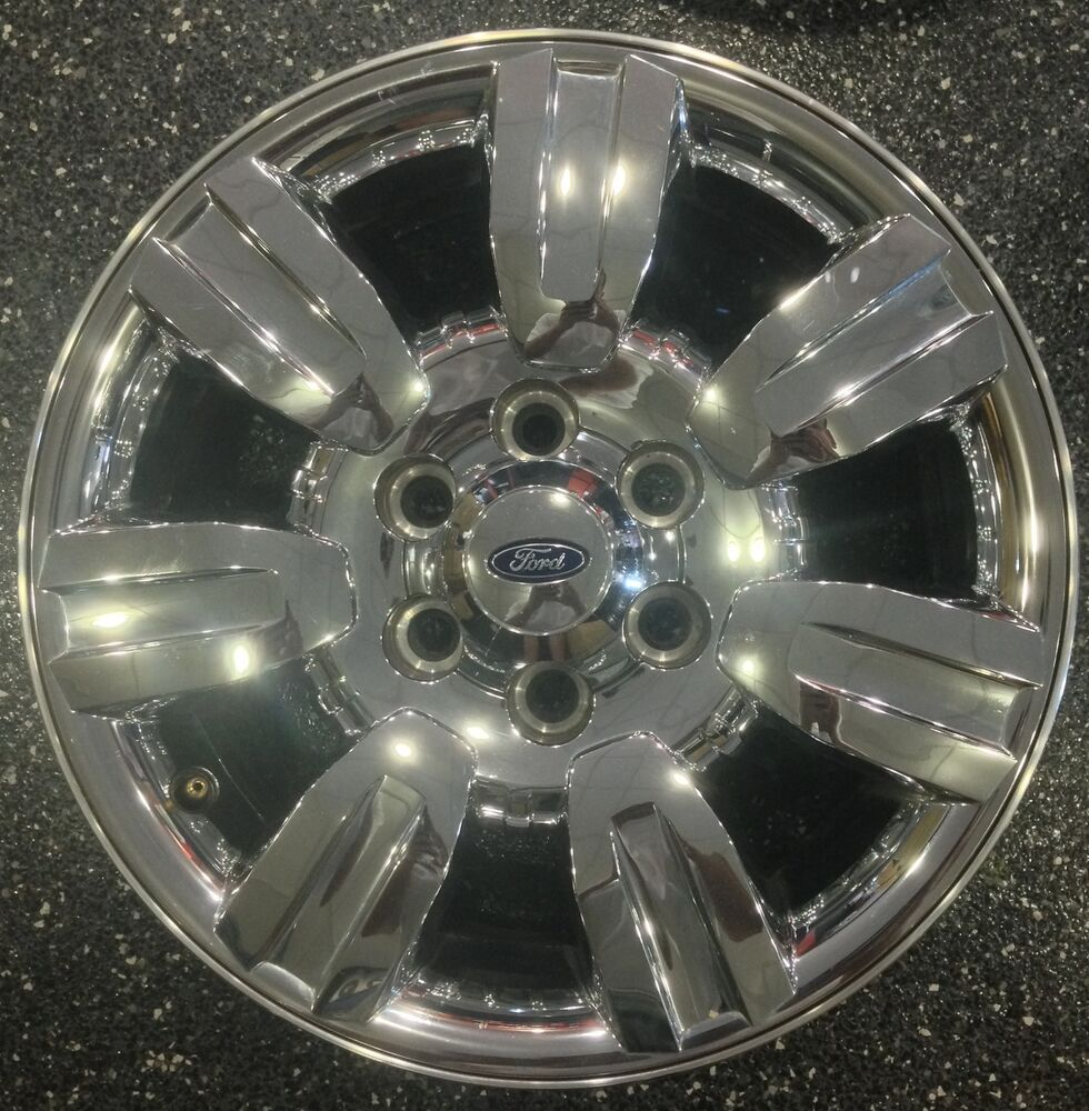Used 2010 Ford F150: 2009-2012 Ford F150 18 X 7.5 USED CHROME CLAD FACTORY