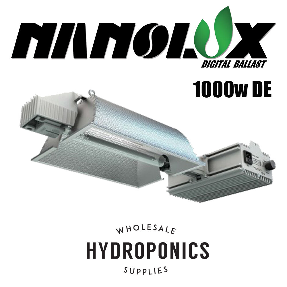 Nanolux 1000w DE Double Ended Complete Fixture 1000 Watt 208-240v + Lamp - 2017 : eBay
