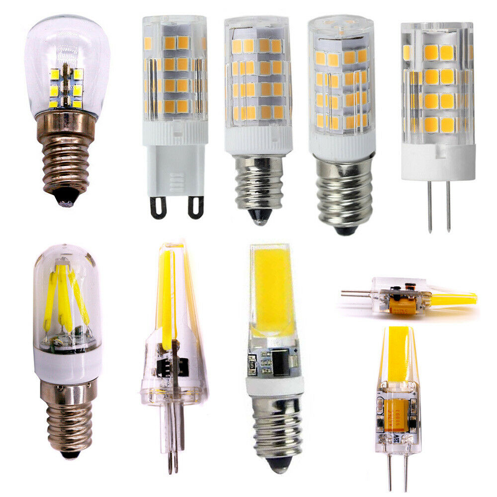 E12 E14 G9 G4 Corn Bulb Cob Spotlight Dimmable Lamp Led 3w