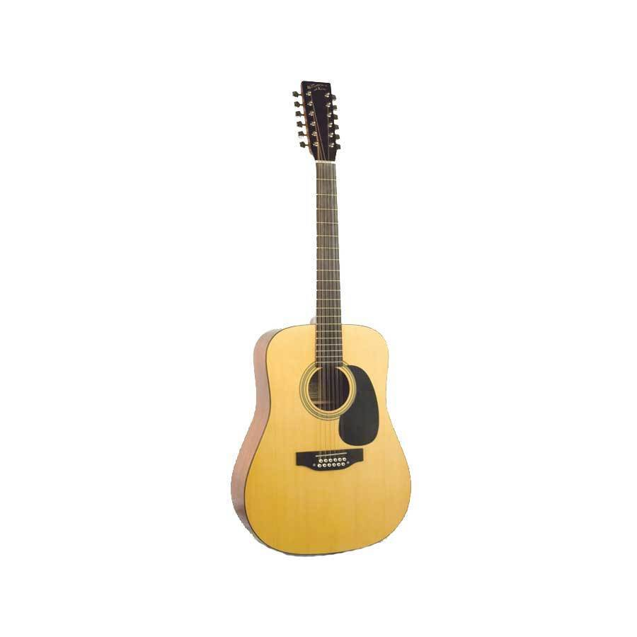 recording king rd 06 12 w case 12 string classic series acoustic guitar new ebay. Black Bedroom Furniture Sets. Home Design Ideas