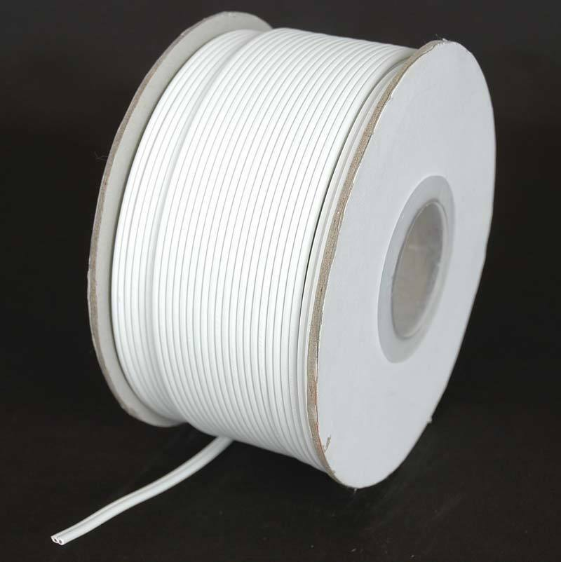 White Spt1 Wire Extension Cord Wire Awg 18 Gauge Zip Cord