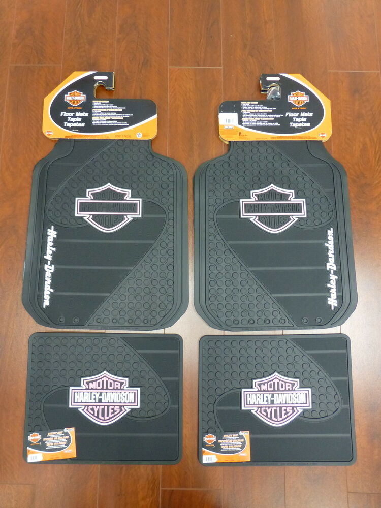 Harley Davidson Factory Front And Rear Car Truck Rubber
