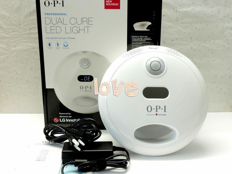 Opi Gelcolor New Model 2017 Studio Led Light Lamp 110v