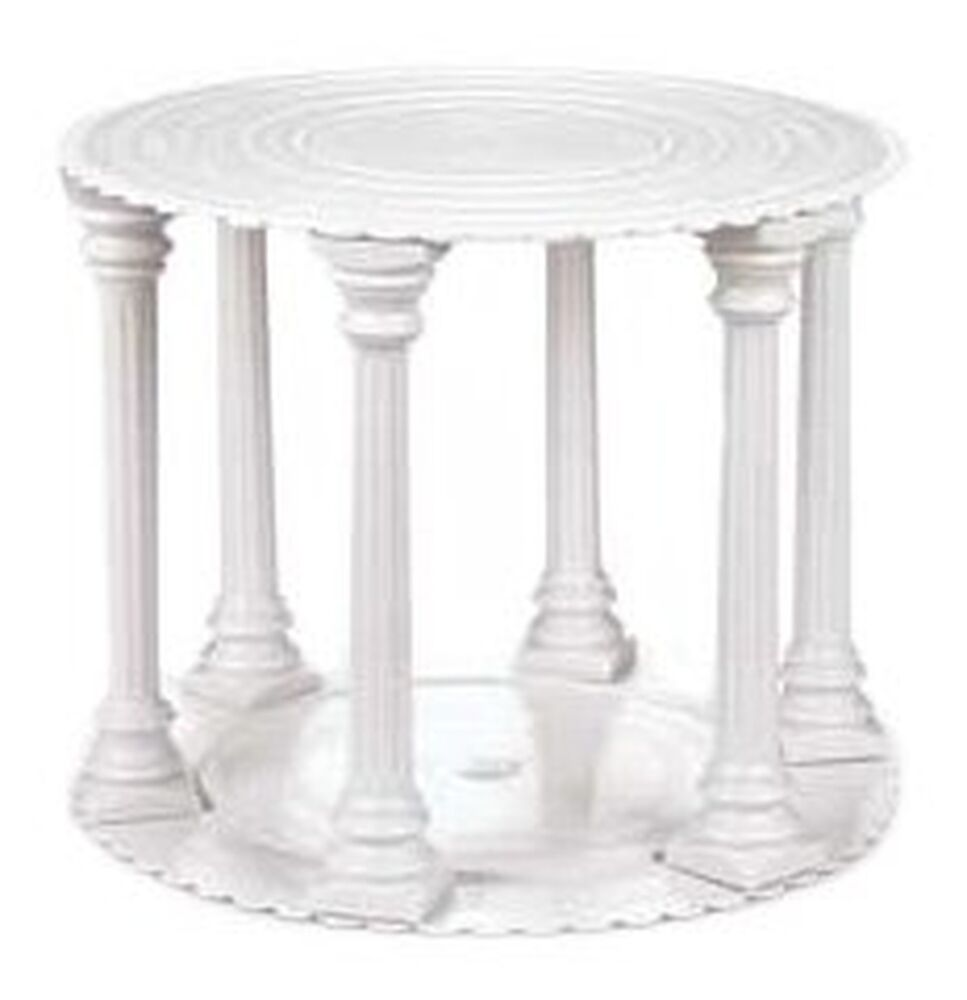 wedding cake plates and pillars wilton column tier set ebay 23505