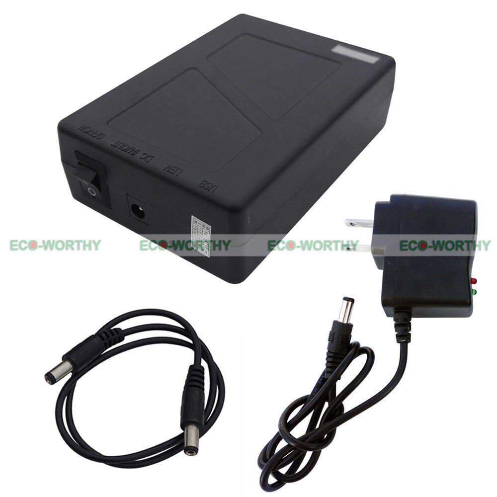 9800mah dc super power rechargeable li ion battery pack for 12v devices cctv ebay. Black Bedroom Furniture Sets. Home Design Ideas