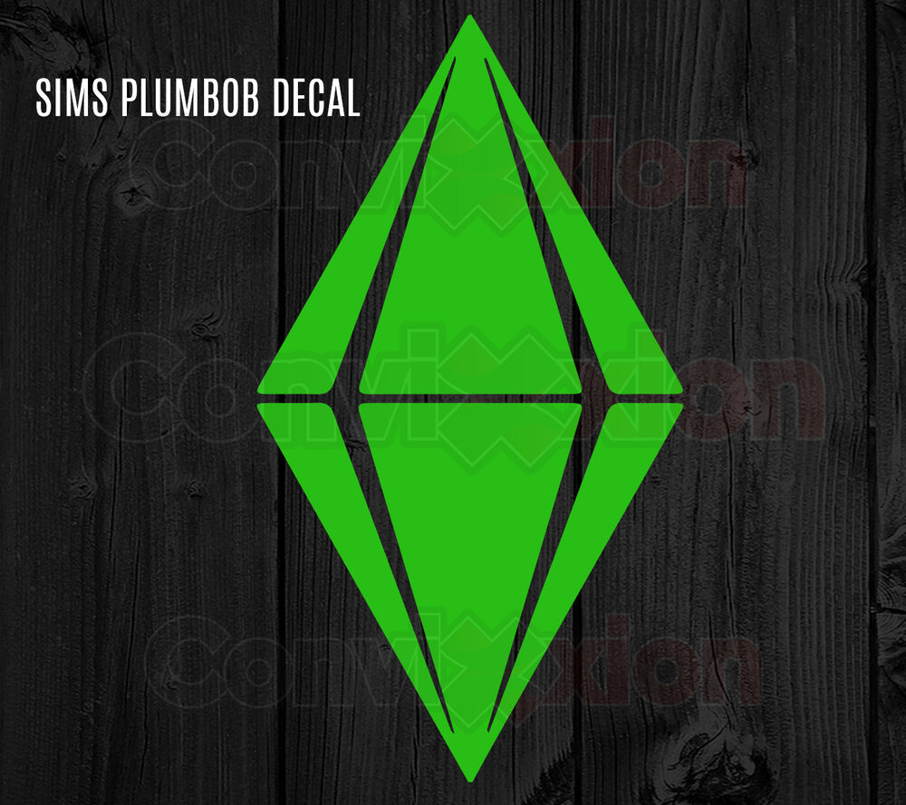 The sims decal plumbob moodlet sims 4 fans ts2 ts3 laptop car vinyl sticker 6 ebay