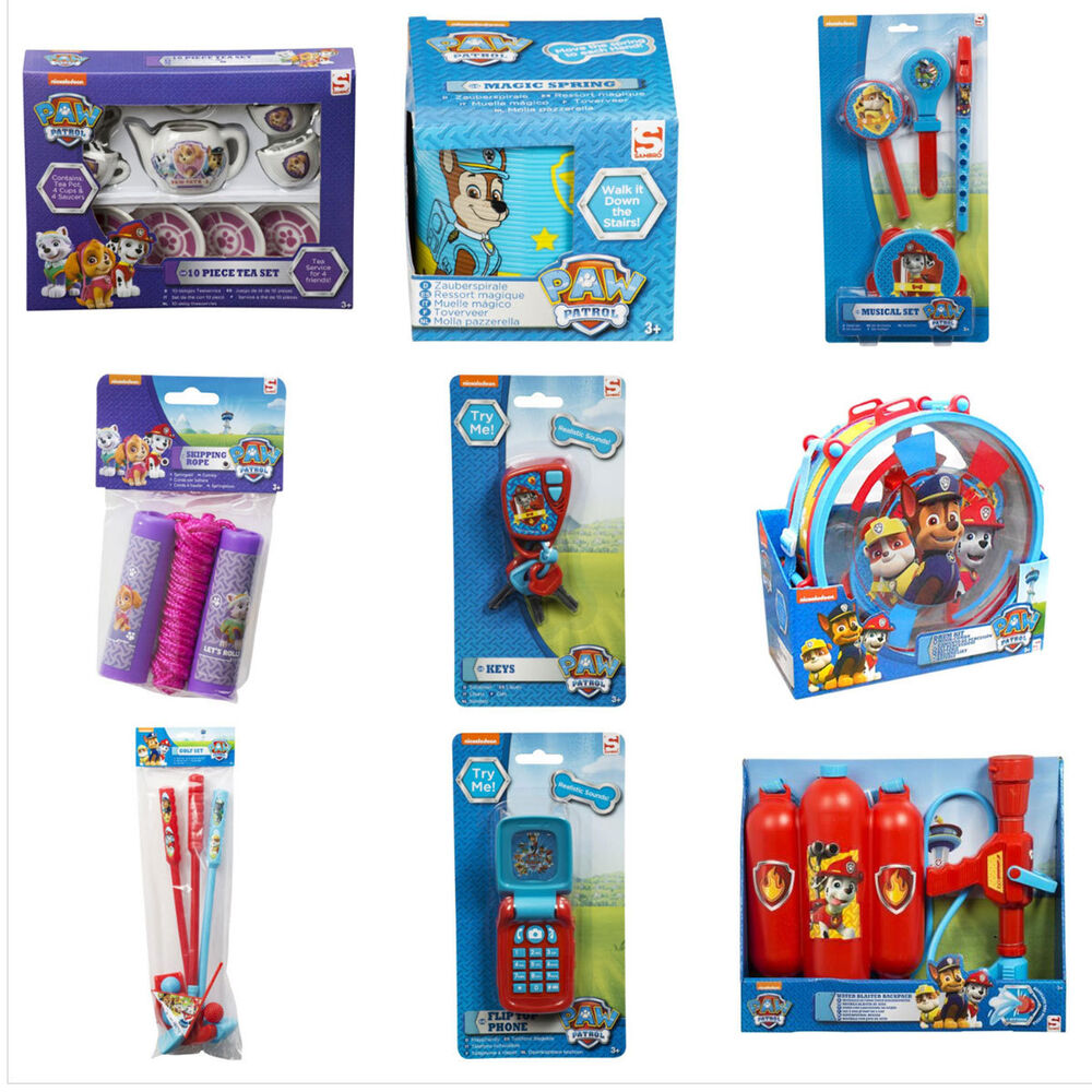 Paw Patrol Toy For Everyone : Paw patrol toys assorted ebay