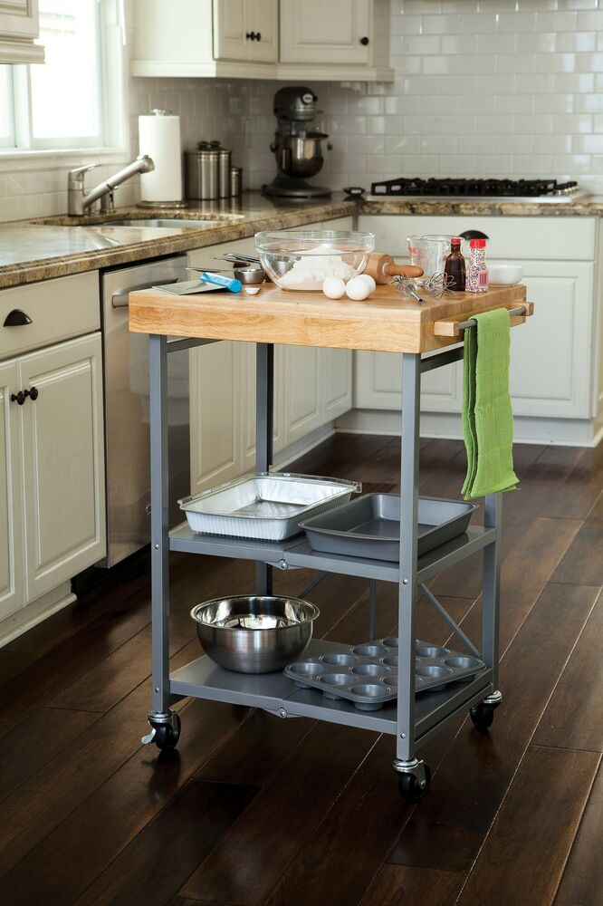 origami rbt butcher block kitchen cart folding microwave 17 best images about kitchen on pinterest kitchen island