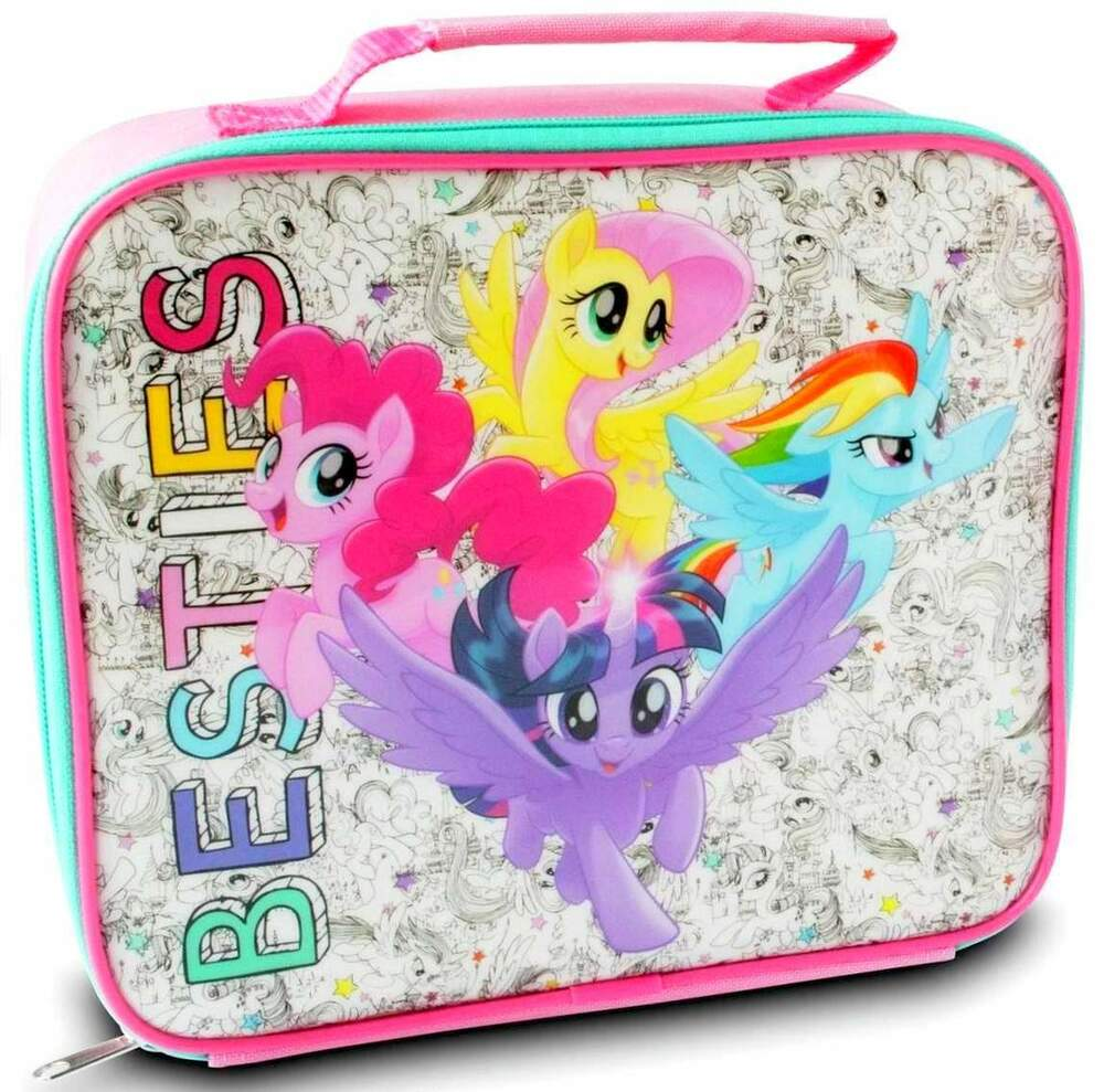 my little pony 39 friends forever 39 lunch bag box lunchbox. Black Bedroom Furniture Sets. Home Design Ideas