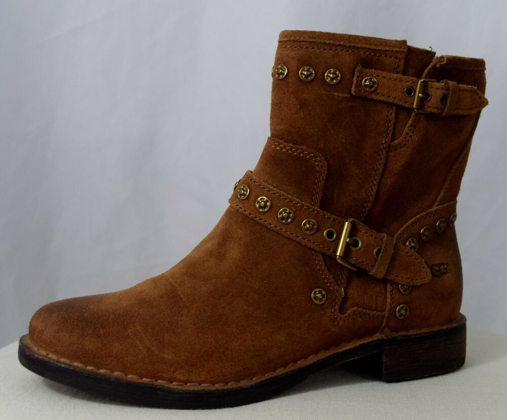 94013afc0 Ugg Studded Suede Ankle Boots