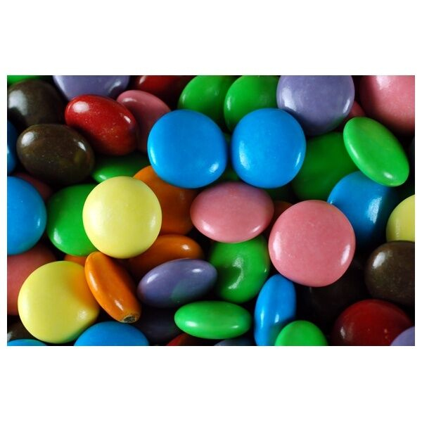 Cake Decorating Chocolate Beans : Kingsway Chocolate Beans Like Smarties Retro Wedding ...