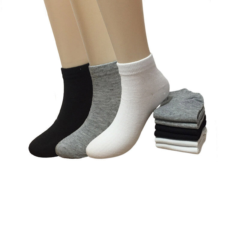 New 6 12 Pairs Casual Mens Fashion Ankle Socks Sports Low