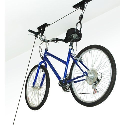 Heavy Duty Bicycle Lift Ceiling Mounted Hoist Storage