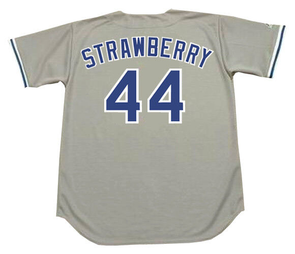56d18dc182e DARRYL STRAWBERRY Los Angeles Dodgers 1991 Majestic Cooperstown Away Jersey