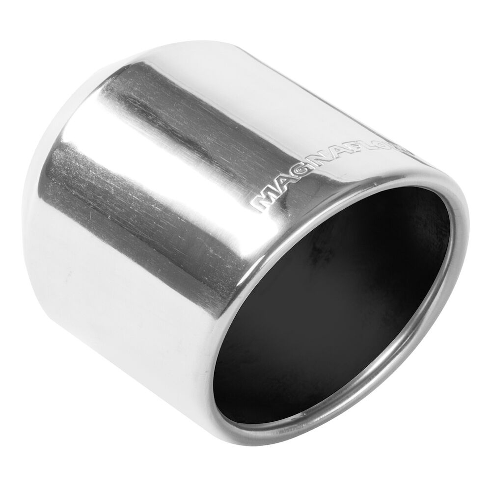 Magnaflow exhaust tip in inlet quot long outlet