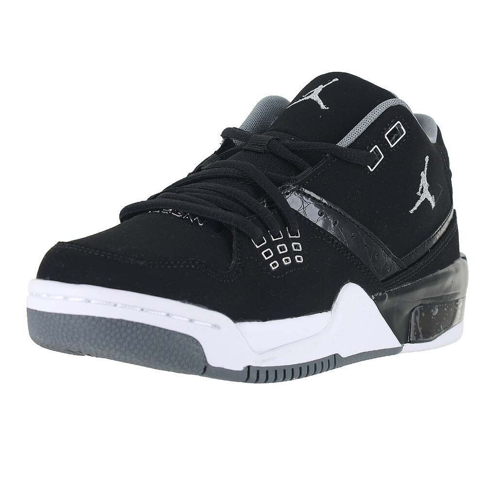 online retailer 140ef 20190 Details about 317821-022 Nike Air Jordan Flight 23 (GS) Black Silver-White  Size 4-8 NIB
