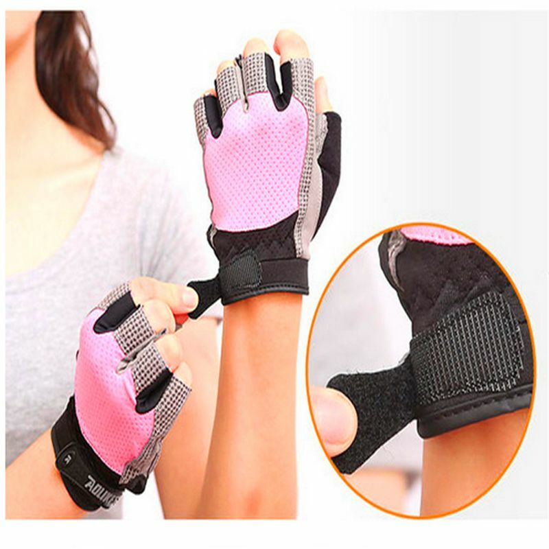Workout Gloves Womens Nike: Sports Weight Lifting Gloves Gym Training Woman Workout