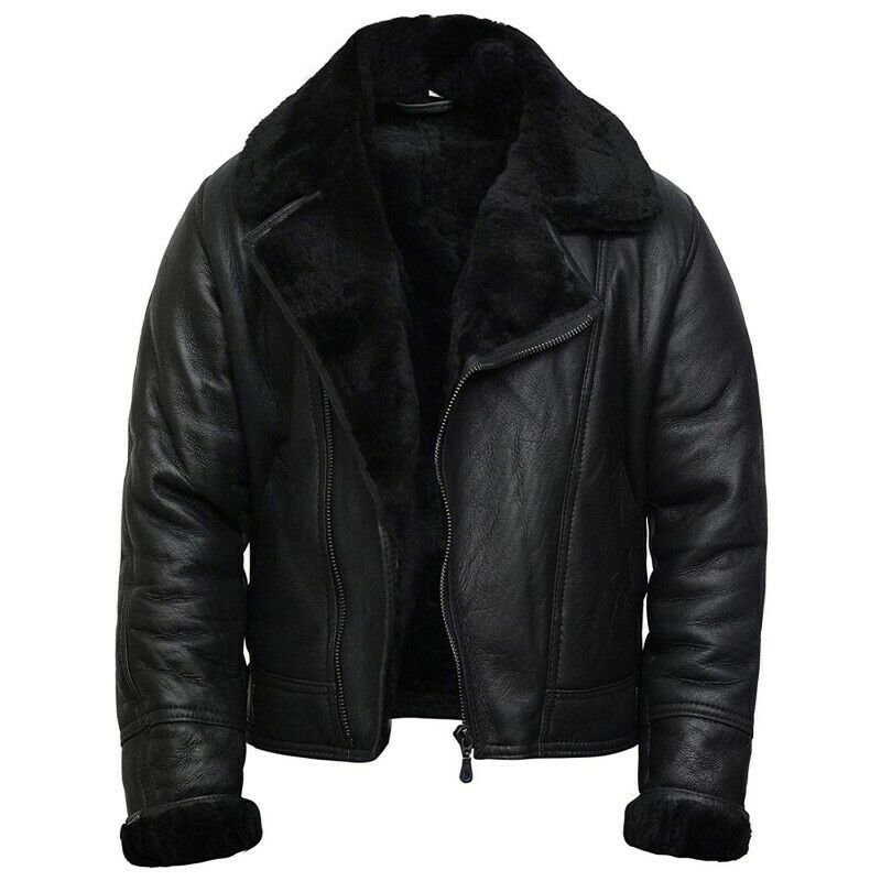 Leather flying jackets for men