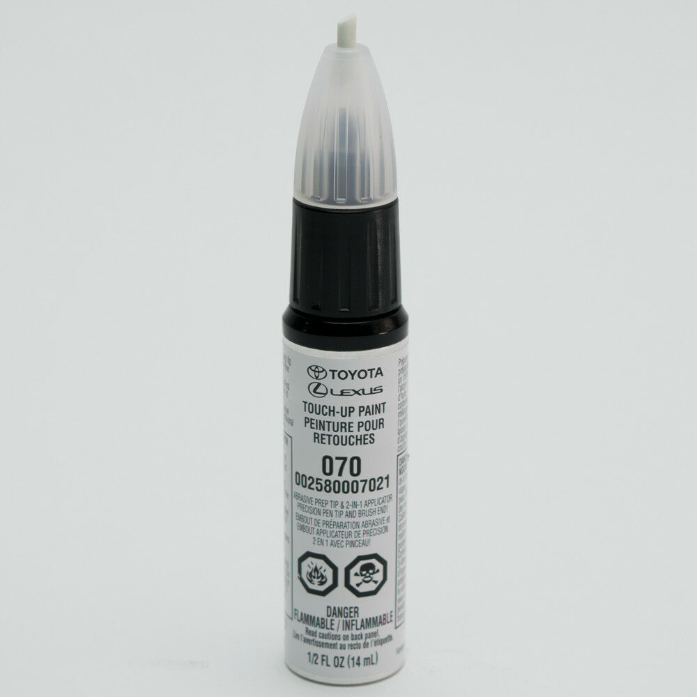 Toyota touch up paint 070 blizzard pearl 00258 00070 21 for Toyota paint touch up pen