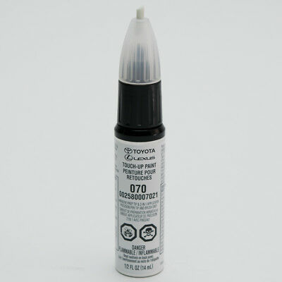 Toyota Touch-Up Paint 070 Blizzard Pearl : 00258-00070-21