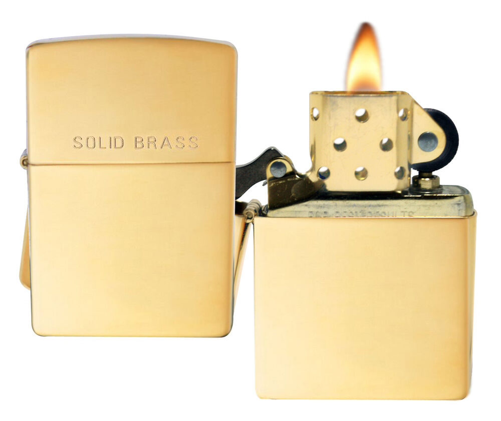 zippo lighter The zippo super store high polish gold plate finishincludes the world famous zippo lifetime guarantee.