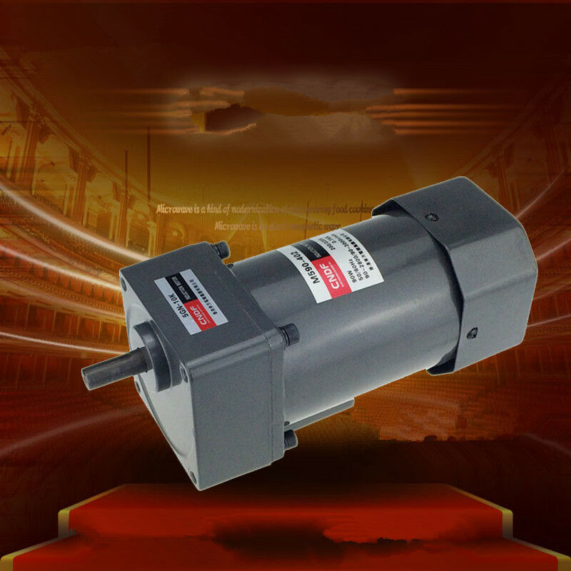 Ac vertical gear motor governor 90w m590 three phase 220v for 220v 3 phase motor